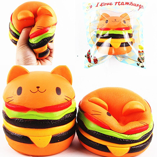 CAT BURGER SQUISHY